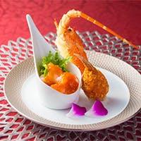 盛り付けもこだわり洗練されたアレンジで。伝統の味に新しい風を吹き込んだ中国料理