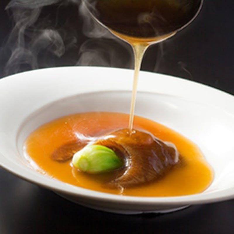 「鈴蘭 ‐Suzuran‐」ふかひれの姿煮込み&餡掛けご飯、伊勢海老の炒め煮など全6品(個人盛り提供)