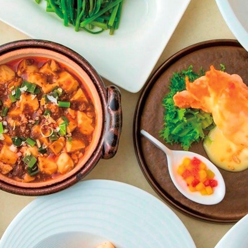 「花水木 ‐Hanamizuki‐」選べるメイン料理に、ふかひれスープや蟹肉入り炒飯など全6品