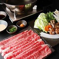 佐賀牛一頭買いが自慢。焼肉はもちろん、すき焼き、しゃぶしゃぶ鍋も大人気