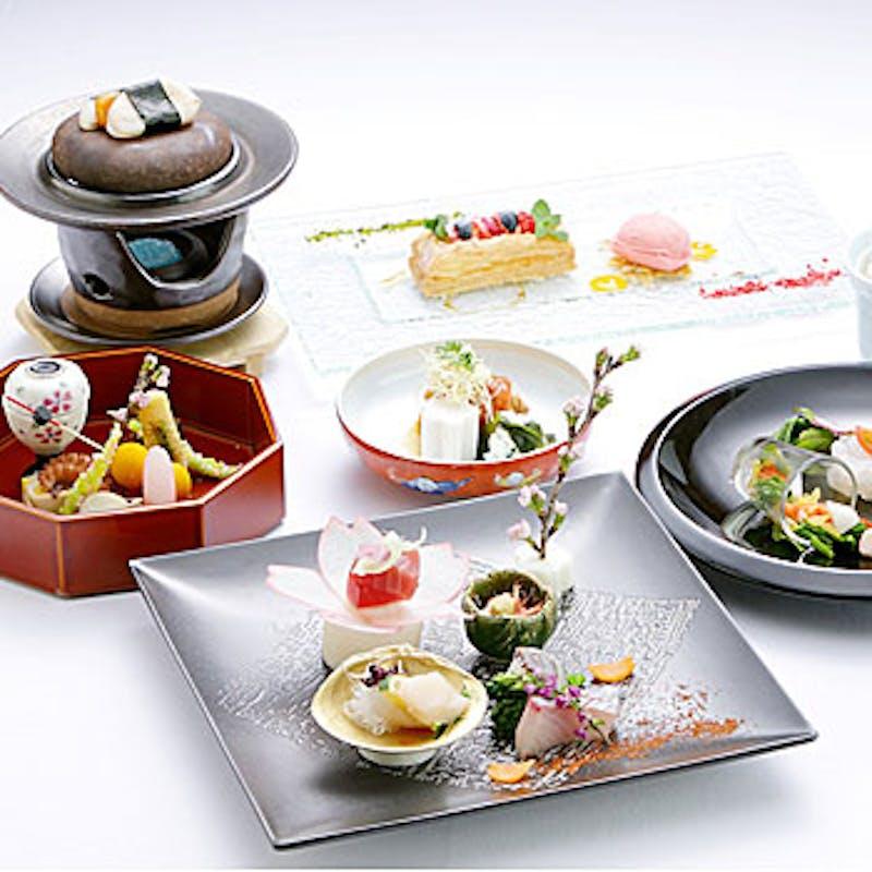 【粋会席】造り・焼物・煮物・食事・甘味等全7品+乾杯スパークリング