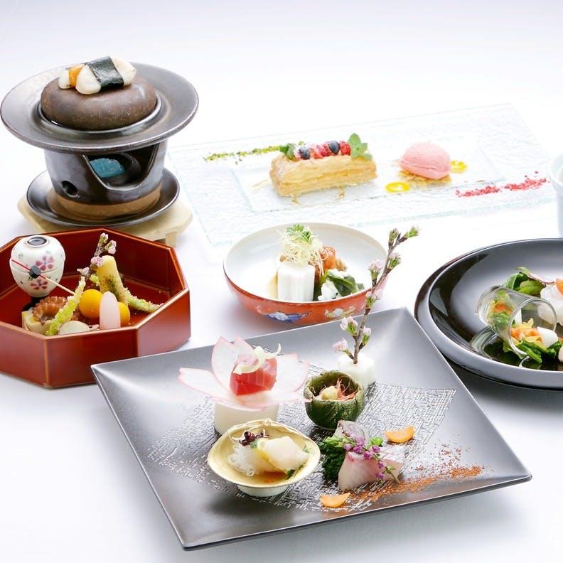 四季を取り入れたモダンな和食料理