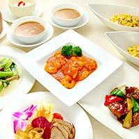 厳選素材を使用した本格中華料理