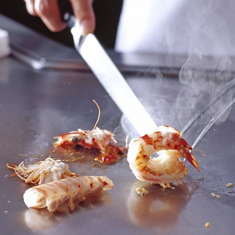 【山城】黒毛和牛フィレ&サーロインの食べ比べ、車海老、帆立貝など全9品