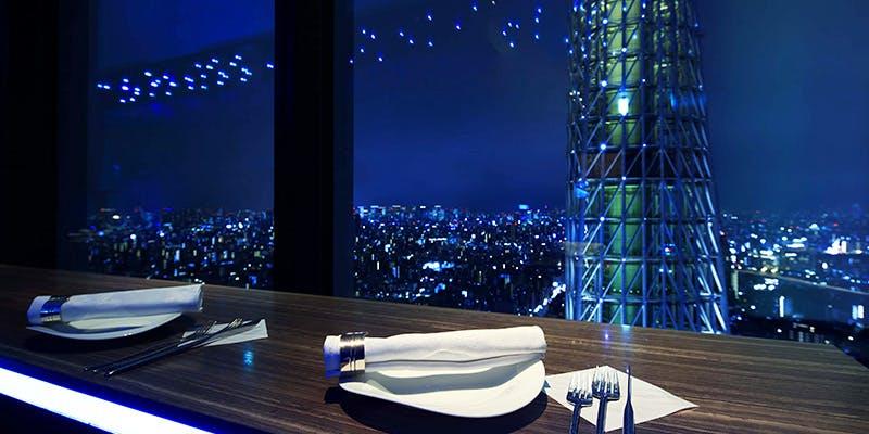 記念日におすすめのレストラン・天空LOUNGE TOP of TREE/東京ソラマチ31Fの写真2