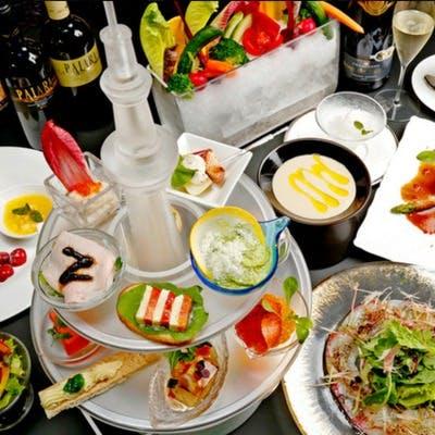 フレンチ、イタリアンベースのお料理をご用意