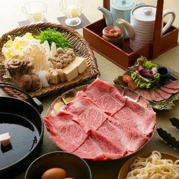 【黒毛和牛A4クラシタ肉(100g)すきやきコース】