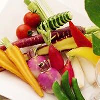 厳選した食材・契約農家から直送の新鮮な野菜にこだわったイタリアン