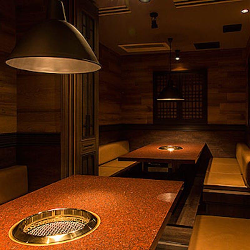 【極上春コース】生姜タンやザブトンのすき焼きや石焼きなど16品+乾杯シャンパン
