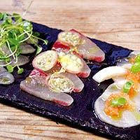 洗練されたソースで味わう新鮮な鮮魚
