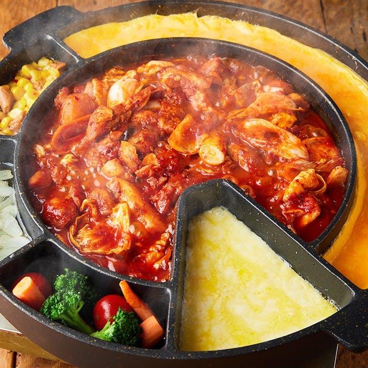 料理長こだわりの創作韓国料理を堪能