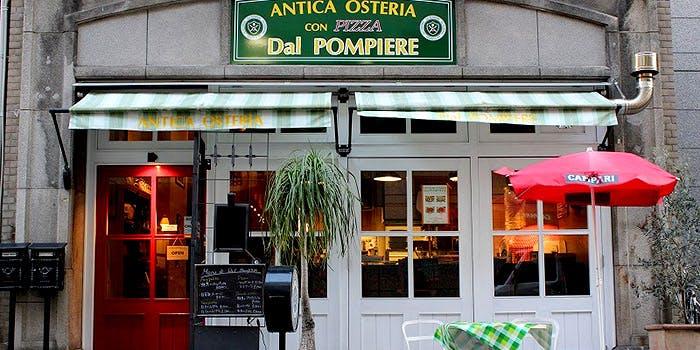 記念日におすすめのレストラン・アンティカ・オステリア・ダル・ポンピエーレの写真1