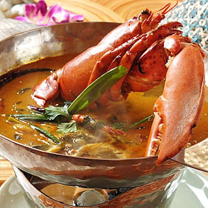 【クラビーコース】海鮮盛合せやビッグオマールロブスター、黒毛和牛など全9品