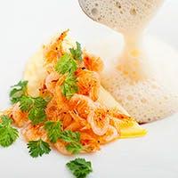 明石や五島列島、京都等から届く旬の食材を使用