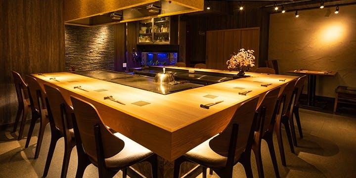 記念日におすすめのレストラン・鉄板焼 grow 六本木店の写真1