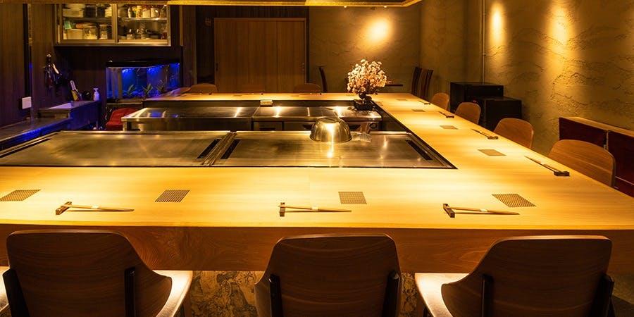 記念日におすすめのレストラン・鉄板焼 grow 六本木店の写真2
