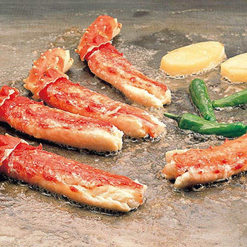 【嵯峨野】本タラバかにステーキやヒレステーキなど全7品+ソフトドリンク