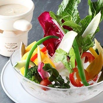 野菜の美味しさを感じることのできるメニューの数々