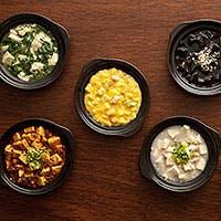 【麻婆豆腐】白・赤・黒・緑・黄色の5種類