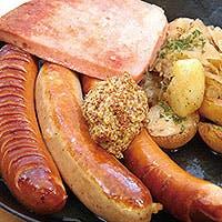 ドイツの各地の有名料理の数々をご堪能