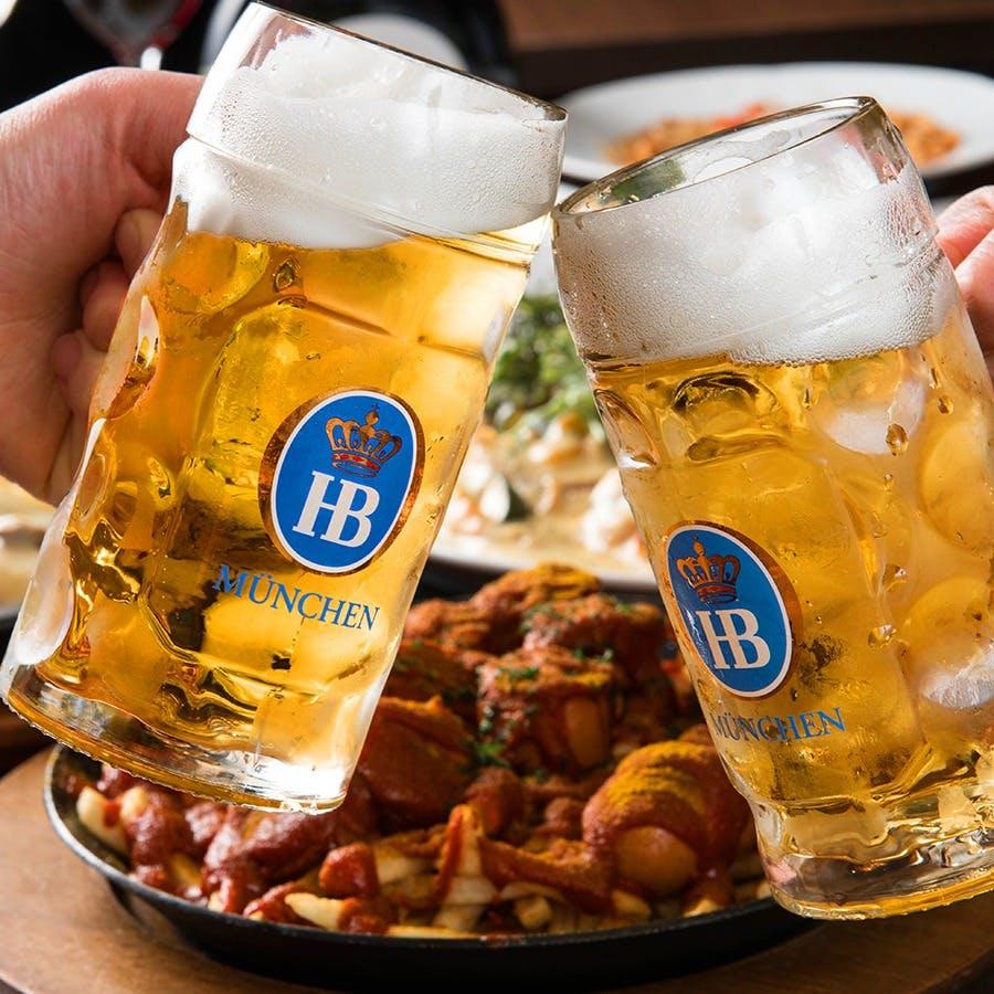 ドイツから自社で直輸入のビール&ワイン