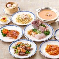 素材の持ち味を活かす広東料理をご堪能ください