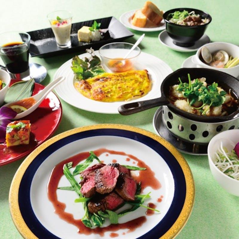 【サイゴンコース】ベトナム前菜5種、ハマグリ、牛フィレステーキなど全7品