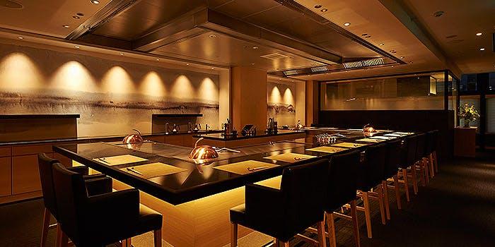 記念日におすすめのレストラン・鉄板焼 銀明翠 GINZAの写真1