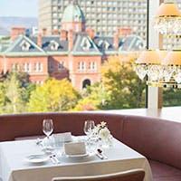 窓の外に北海道ならではの光景を望む、贅沢な空間
