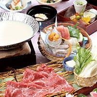 旬魚旬菜を使った季節味覚を、接待・お顔合わせに最適な会席料理にてご提供