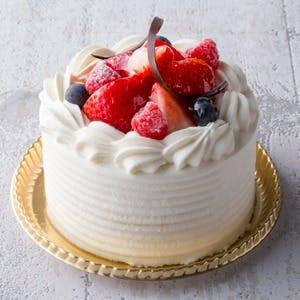 【お誕生日や記念日に】ホールケーキ(直径10cm)