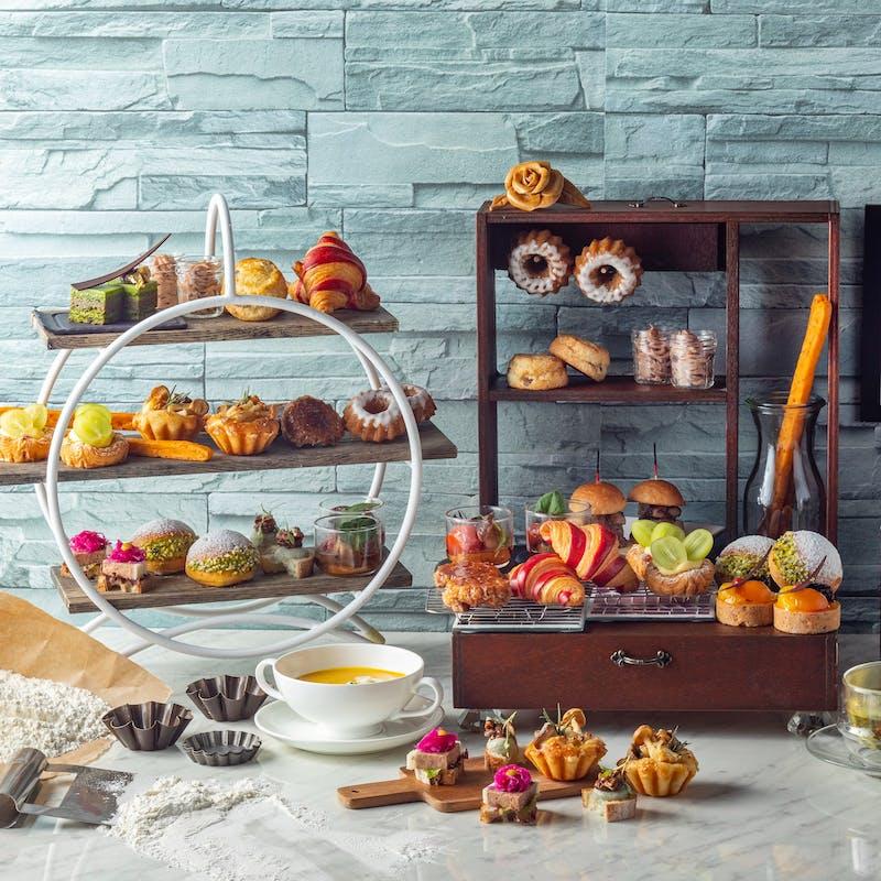 【平日】秋を味わうパン尽くしのアフタヌーンティ「プティ・ブーランジェリー」(特別価格)