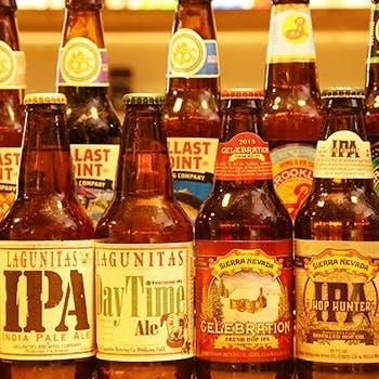 種類豊富なクラフトビール