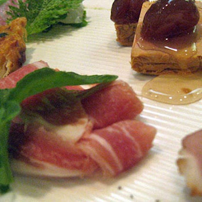 【ディナーEプラン】前菜、魚料理、パスタ、メインなど全7品+選べる3ドリンク