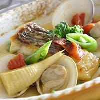 ローマ料理と加賀能登の食材のマリアージュを