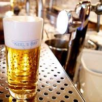 厳選されたビールをどなたでもお楽しみ頂けるようご提供いたします