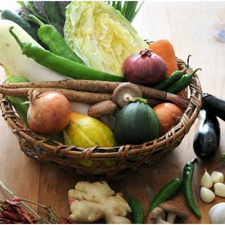 旬のお野菜を通して、レストランと生産者を つなぎ、新たな価値と魅力をお客様に