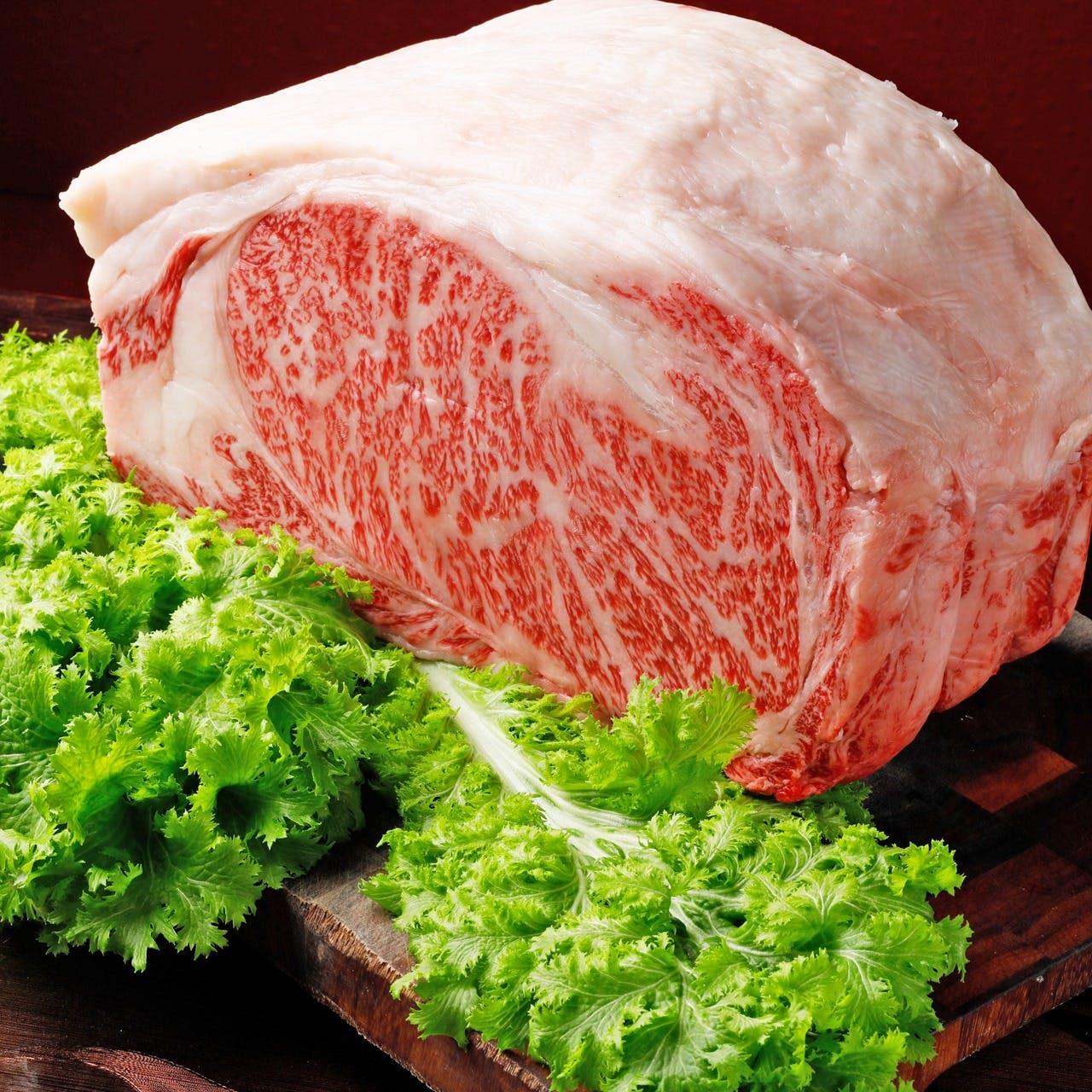A5ランク黒毛和牛ステーキ 増量(サーロイン 50g)