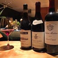 世界各国から取り寄せたワインの数々