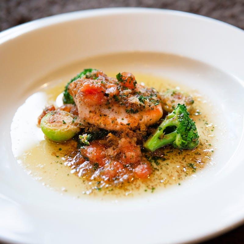 【Diner A】魚料理、選べる肉料理など全6品+乾杯ドリンク(9/30まで)