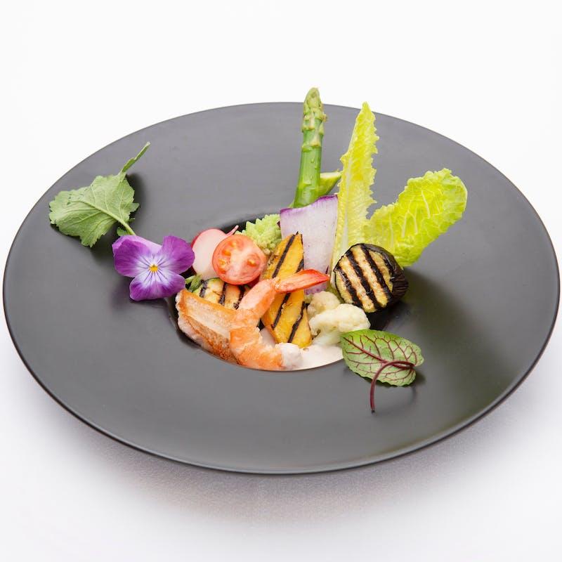 【Diner B】魚料理、選べるお肉料理、デザートなど全7品