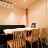 神田に佇む、洗練されたシンプルで上質な空間 個室はご接待に最適