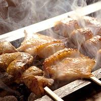 産地直送・比内地鶏の最高級焼き鳥と厳選ワイン