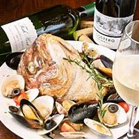 カジュアルイタリアンをベースにした料理とワインがリーズナブルに楽しめます