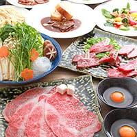 精肉店直営!自慢の黒毛和牛を多種多様な調理法で毎回異なるお肉の美味を