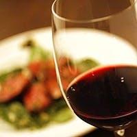 20種類以上のグラスワインや厳選ワインをお料理と