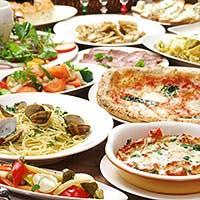 農家直送の野菜たっぷりイタリアンと窯焼きピッツァをどうぞ