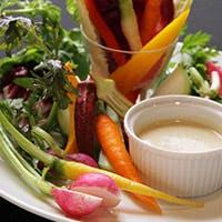厳選した有機野菜を生かしたメニューの数々