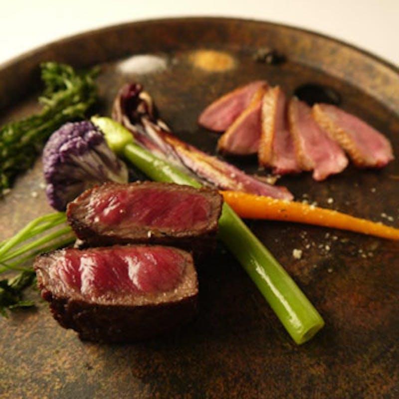 【タニーチャコース】     ~牛肉とトリュフを含むシェフお任せ料理全8皿(個室確約)