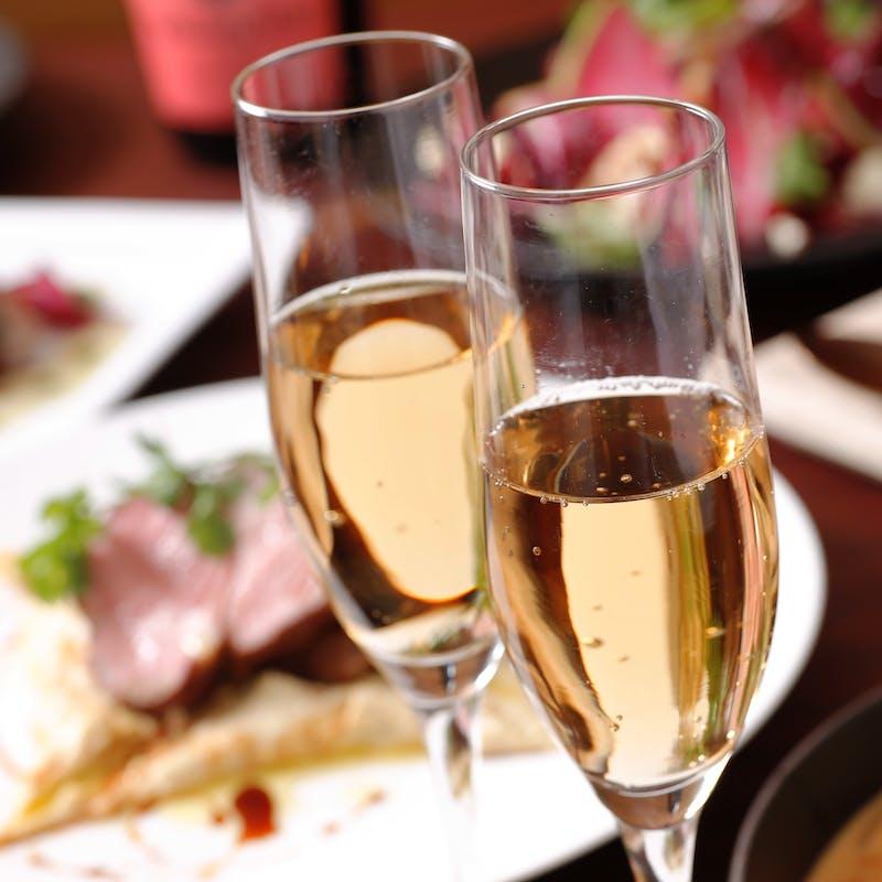 【秋限定収穫祭】ソムリエ厳選乾杯酒&佐土原ナスや太刀魚など秋の素材を味わう料理7品